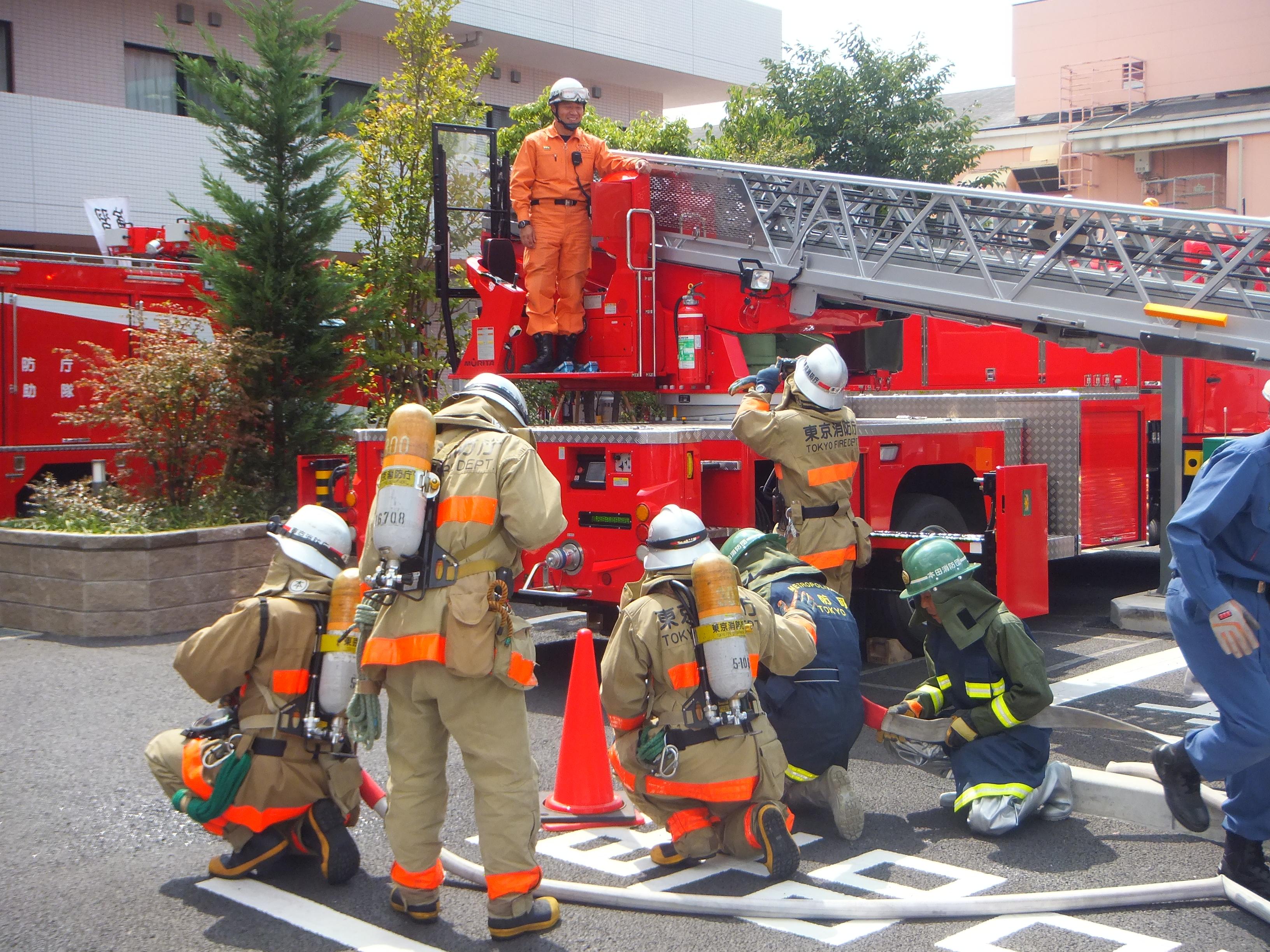 平成26年堀切中央病院消防訓練を実施しました