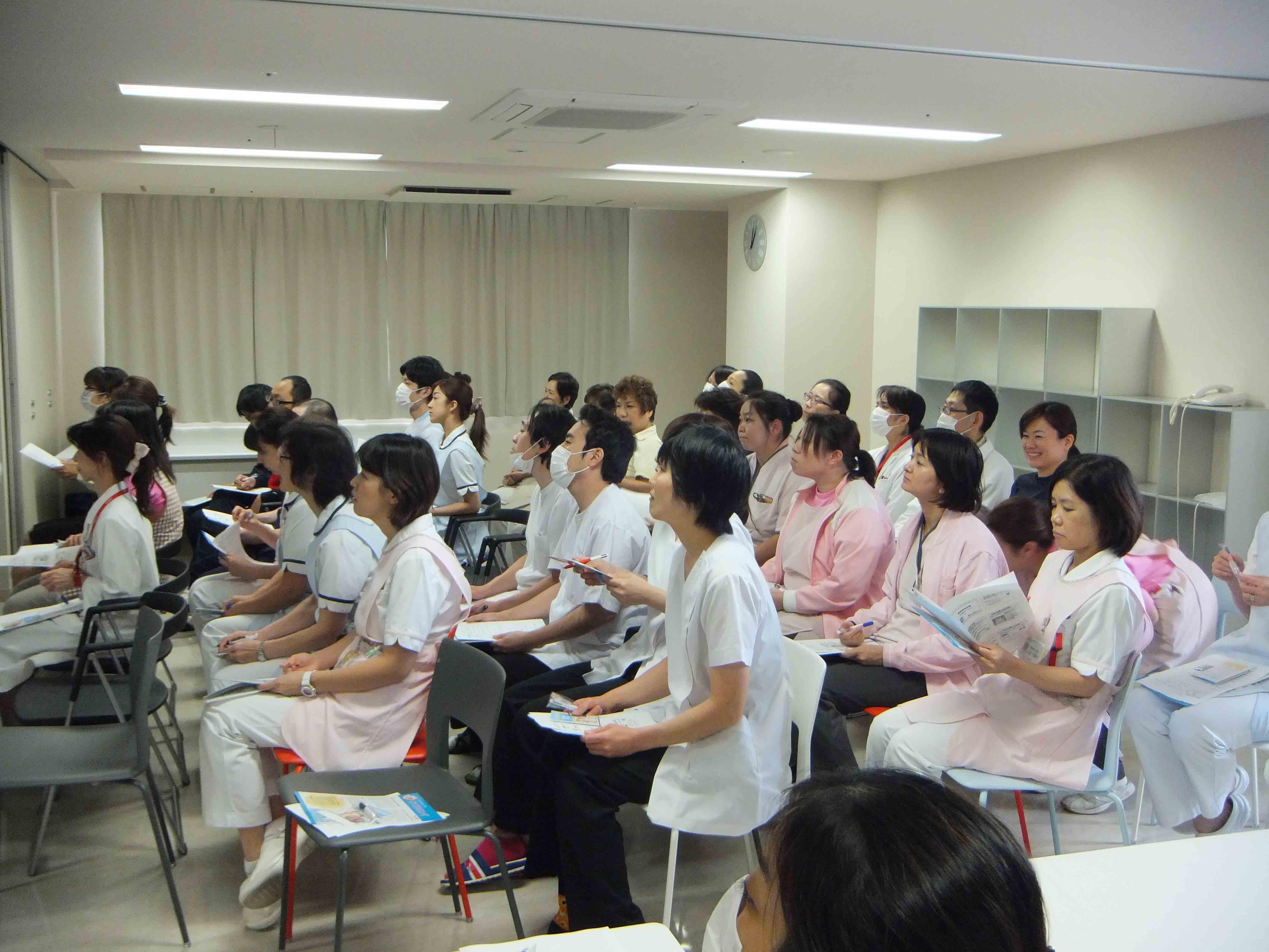 院内感染対策勉強会を開催しました